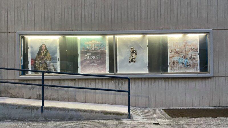 In Puglia le bacheche vuote dei cinema chiusi diventano contenitori per l'arte.